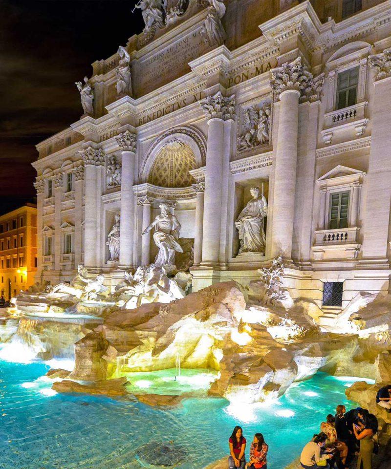 trevi rome tour